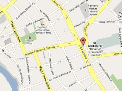 mapa panceva КОНТАКТ « JKP Grejanje mapa panceva
